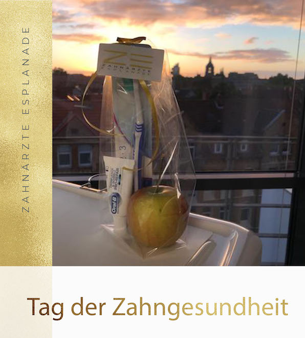 Tag der Zahngesundheit Zahnärzte Esplanade Hannover